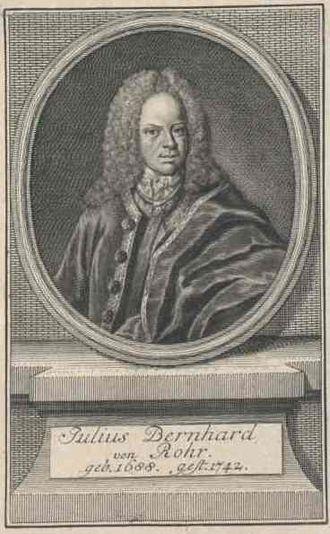 Von Rohr - Image: Julius Bernhard von Rohr engraving (cropped)