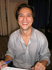 Justin Whalin at WonderCon 2009.JPG