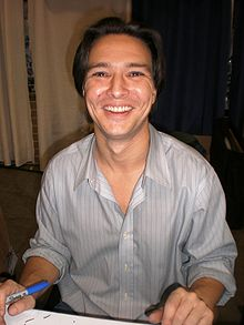 alt=Description de l'image Justin Whalin at WonderCon 2009.JPG.