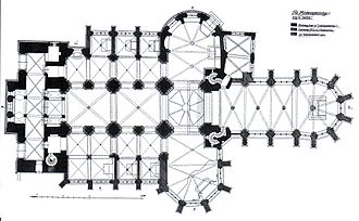 St. Andrew's Church, Cologne - Floor plan