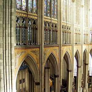 Triforium - Triforium in the Cologne Cathedral