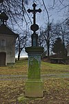Kříž blízko zvonice, Repechy, Bousín, okres Prostějov.jpg