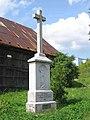 Kříž na severovýchodním okraji Jiříkova při silnici do Kněžpole (Q72850242) 03.jpg