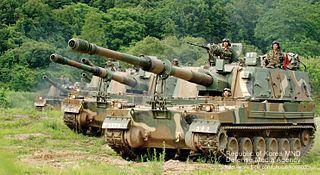 K9 Thunder South Korean self-propelled 155 mm howitzer