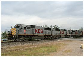 Image illustrative de l'article Kansas City Southern Railway