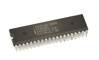Intel MCS-51 microcontroller chip