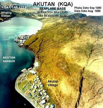 Akutan, Alaska - Image: KQA b