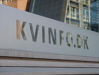 KVINFO - KVINFO office in Copenhagen.