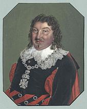 Krüger als Graf Almaviva in Die beiden Figaro von Johann Friedrich Jünger nach Martelly (Quelle: Wikimedia)