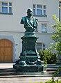 Kaiser Franz Joseph I bust in Berndorf.jpg