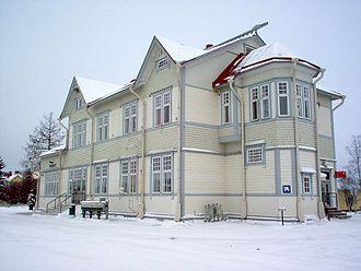 Kainuu - The Kajaani railway station
