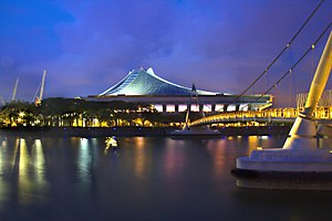 2015 WTA Finals - Singapore Indoor Stadium hosted the WTA Finals for the first time in 2014.