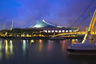 2018 WTA Finals - Singapore Indoor Stadium hosted the WTA Finals for the first time in 2014.
