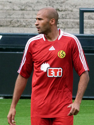 Diomansy Kamara - Kamara with Eskişehirspor in 2011