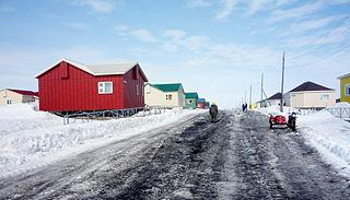Kanchalan Selo in Chukotka Autonomous Okrug, Russia