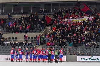 Kungälv Municipality - Kareby IS after the second national bandy title in 2015