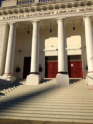 Karpeles Manuscript Library Museum (Jacksonville) - Image: Karpeles Museum