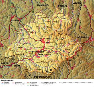 Schmallenberg - Schmallenberg (map)