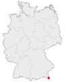 Karte Schoenau am Koenigssee in Deutschland.png