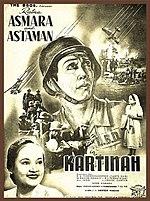 Poster Kartinah Film Pertama Andjar