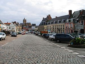 Cassel, Nord - Image: Kassel markt