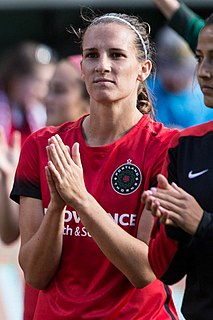 Katherine Reynolds American professional soccer player