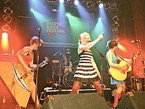 Katzenjammer performing live at Hamburg. Germany. 2009.jpg
