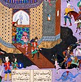 Kay Khusraw Captures the Demon-occupied Bahman Castle - detail 01.jpg