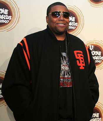 Kenan Thompson at the mtvU Woodie Awards.