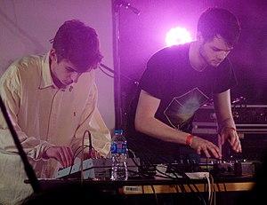 Kero Kero Bonito - Jamie Bulled (left) and Gus Lobban (right)