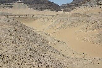 Umm El Qa'ab - Khasekhemwy's tomb
