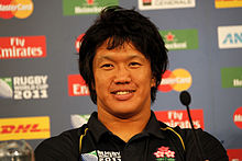 Kikutani press conference RWC 2011.jpg