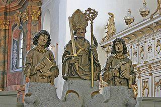 Saint Totnan Irish saint