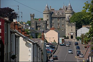 Killyleagh village and civil parish in County Down, Northern Ireland
