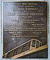 King George Station plaque.jpg