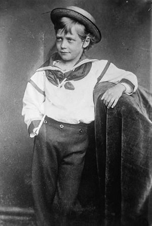 George V - George as a young boy, 1870
