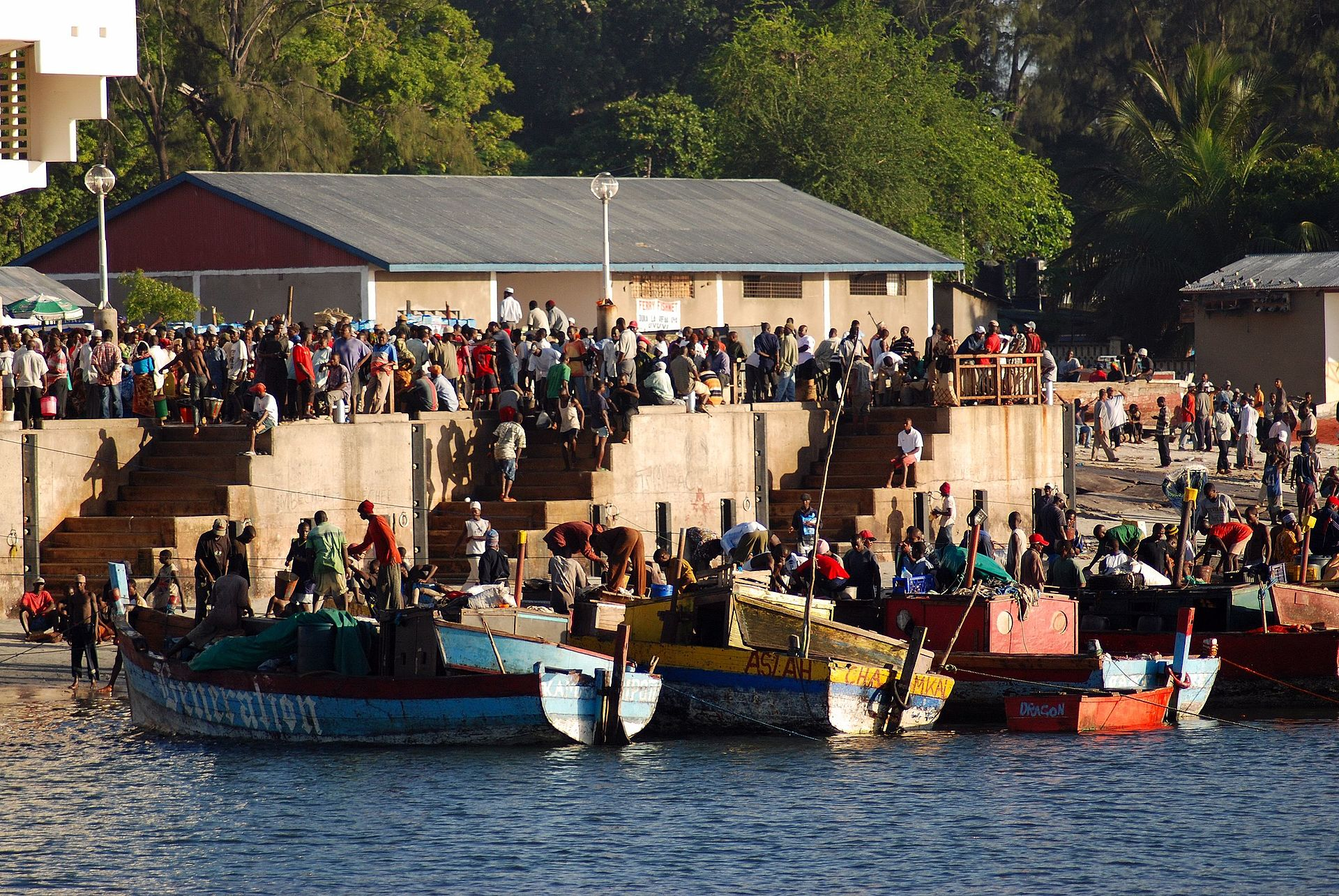 Kivukoni wikipedia for 3rd ferry fish market