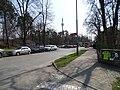 Klánovice, Slavětínská, otočka Nádraží Klánovice-sever.jpg