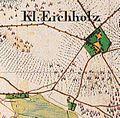 Klein-Eichholz Urmesstischblatt 3748 Friedersdorf 1841.jpg
