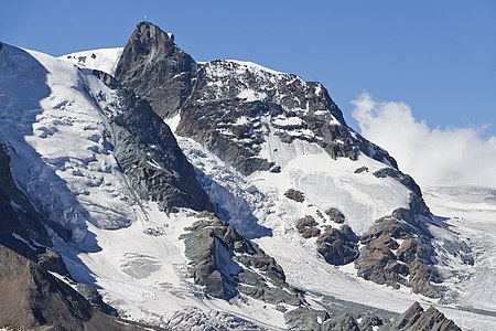 Klein Matterhorn from Gornergrat, Wallis, Switzerland, 2012 August.jpg