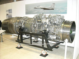 Klimov RD-33 - RD-33 on display at the Luftwaffe Museum