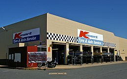 Kmart australia wikivisually kmart tyre auto service with the kmart department store and a coles supermarket located in wagga wagga new south wales gumiabroncs Choice Image