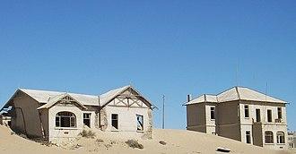 Kolmanskop - Image: Kolmanskop