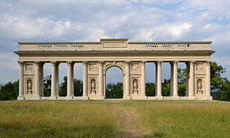 Lednice–Valtice Cultural Landscape - The Colonnade in Valtice