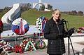 Komemoracija ob spomeniku padlim v vojni za Slovenijo 1991 na ljubljanskih Žalah 2014 02.jpg