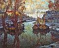 Konstantin Gorbatov - Sunset in Pskov.jpg