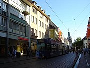 Einkaufsmeile in Freiburg: Kaiser-Joseph-Straße