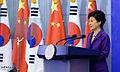 Korea President Park Tsinghua Speech 20130629 05.jpg