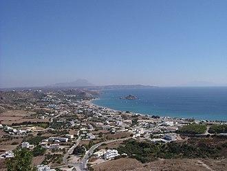 Kefalos - Looking out onto sea from Kefalos (October 2005)
