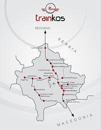 科索沃铁路